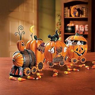 Pumpkin Express Train for Halloween - Home Decor - Figurines - Molded - Halloween - 1 Piece (B005FXRDPM)   Amazon price tracker / tracking, Amazon price history charts, Amazon price watches, Amazon price drop alerts