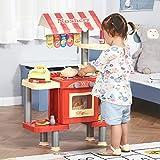 Zoom IMG-1 homcom cucina giocattolo per bambini