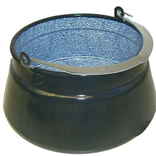 Neu 10 L Ungarischer Fischkessel Emaille Feuertopf Gulaschkessel Kessel 10 Liter