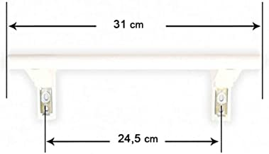 Recamania Tirador Puerta frigorifico Liebherr (Largo 31cm - Entre agüjeros 24, 5cm) 743067000-743067001