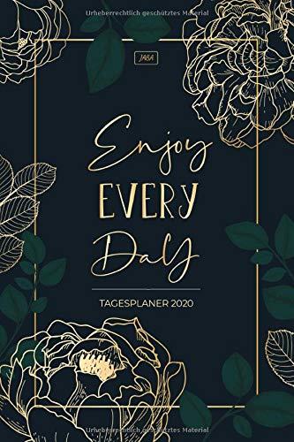 Tagesplaner 2020: Kalender 1 Seite 1 Tag - Terminkalender, Taschenkalender, Tageskalender, Terminplaner 2020 - Kalenderbuch und Buchkalender für das neue Jahr