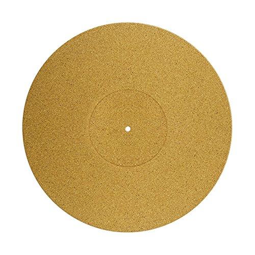 Plattentellerauflage Matte aus Kork/Cork Nature Slipmat/Kork-Plattentellerauflage …