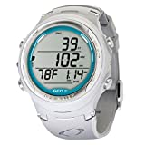 Oceanic GEO 2.0 Scuba Dive Computer Wrist Watch W/O USB (White/Teal)