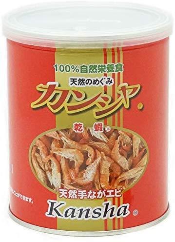 100%自然栄養食 カンシャ 乾蝦 天然手ながエビ 80gamazon参照画像