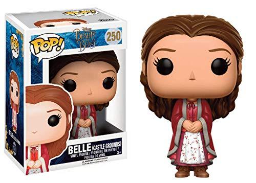 La Bella e la Bestia FK12797 Pop! Personaggio Disney Bella Castle pavimento Originale giocattoli decorativi
