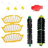 efluky Replacement Accessories Kit for Roomba 500 Series 530 535 540 560 570 580 - Includes 3 Pack Filter and Side Brush, 1 Pack Bristle Brush and Flexible Beater Brush, 1 Pack Cleaning Tool