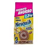 Nestlé NESQUIK Cacao Soluble Instantáneo - Bolsa de cacao soluble 1,2kg
