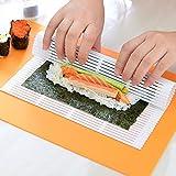 Superior 2017 Herramientas de Cocina Alga nori párr El Sushi de Comida Japonesa Sushi Nori Fabricante de balanceo Matsrodillo Herramientas con Estilo