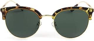 Women 100% UV400 Protection Polarized Sunglasses (Color : Gradient Frame/Green Lens)