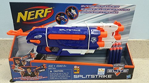 Nerf Splitstrike N-Strike Elite 8X Double Attack
