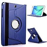 QiuKui Tab Coques pour Samsung Galaxy Tab 3 Lite 7, étui de Tablette 360 Housse de Cuir...