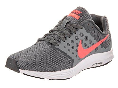 Nike Damen Downshifter 7 Laufschuhe, Grau (Cool Grey/Lava Glow/Dark Grey/White 001), 36 EU