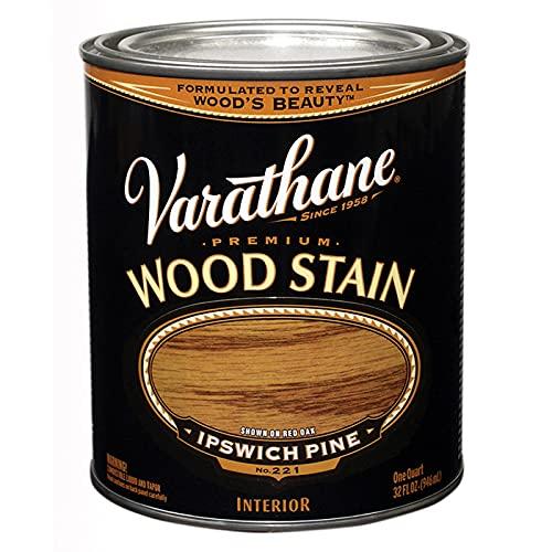 1 qt Rust-Oleum Brands 211714H Ipswich Pine Varathane Oil-Based Interior Wood Stain Pack of 1