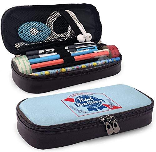 Pabst blue ribbon bier logo federmäppchen federbeutel beutelhalter make-up tasche für schule büro college