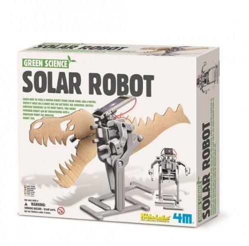 Robot solaire à construire soi-même