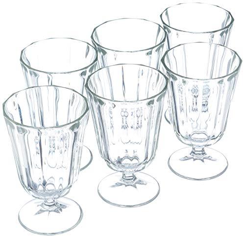 HOME 7835200 - Juego de 6 copas de cristal Anna Vino Cl19 para decoración de mesa