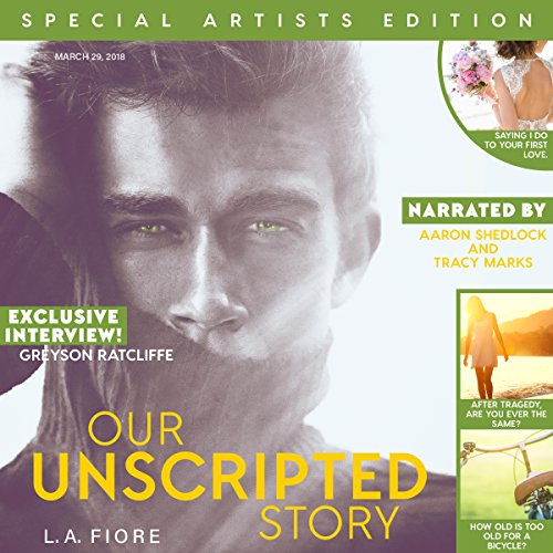 Our Unscripted Story audiobook cover art