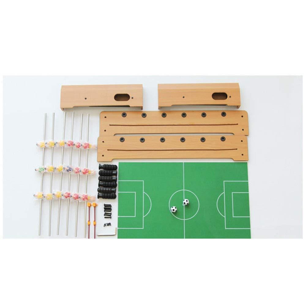 Cvbndfe-Game toy Mini Mesa de Madera portátil de fútbol ...