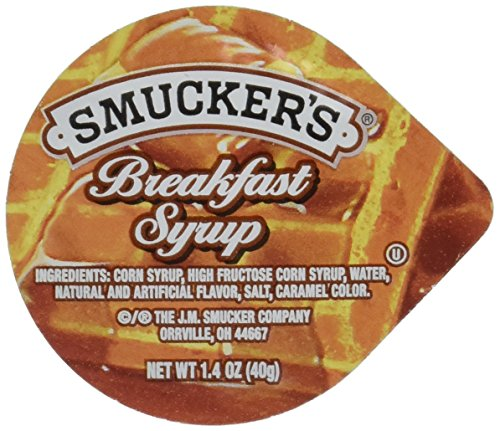 Smuckers Breakfast Syrup 14 Ounce  100 per case