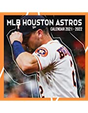 Houston Astros 2022 Calendar: MLB Calendar - Mini Wall Calendar, September 2021 - December 2022, Daily Weekly & Monthly Yearly Agenda Calendar