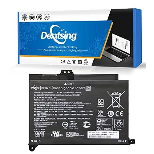 Dentsing BP02XL 7.7V 41Wh Laptop Battery Compatible HP Pavilion PC 15 15-AU000 15-AU010WM 15-AU018WM 15-AW000 Series HSTNN-UB7B HSTNN-LB7H 2ICP7/65/80 849569-421 849569-541 849569-542