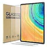 WD&CD [2 Piezas Protector de Pantalla Compatible con Huawei MatePad Pro 5G Cristal Templado con [Garantía de por Vida] [Alta Definicion] [Anti Scratch] [Anti Bubble]