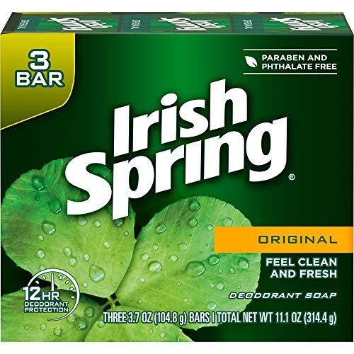 Irish Spring Deo-Seife Ursprünglicher 105 g 3-Count