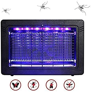 WADEO Bug Zapper Indoor with Smokeless Mosquito Killer Attracts and Kills Mosquitoes,Moths and Other Bug Class for Indoor Residential & Commercial