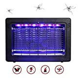 WADEO Bug Zapper Indoor with Smokeless Mosquito Killer Attracts and Kills Mosquitoes, Moths