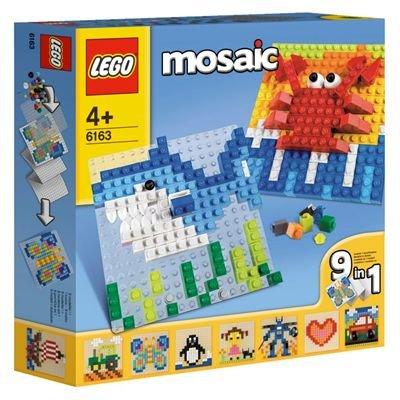 Lego Steine, Bauplatten & Zubehör 6163 Großes Lego Mosaik-Set