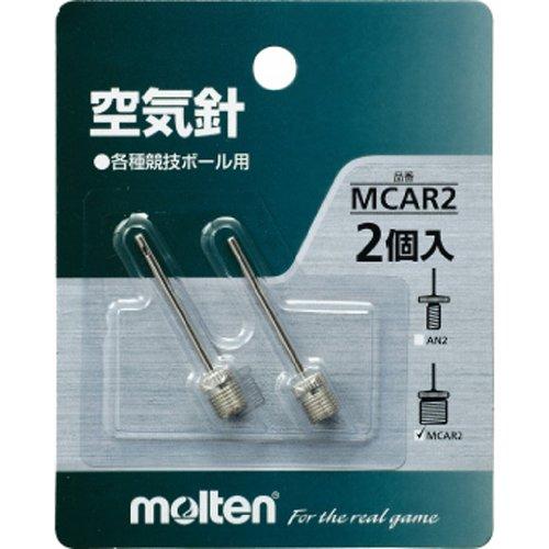 モルテン サッカー ボールアクセサリー 空気針 2本り MCAR2