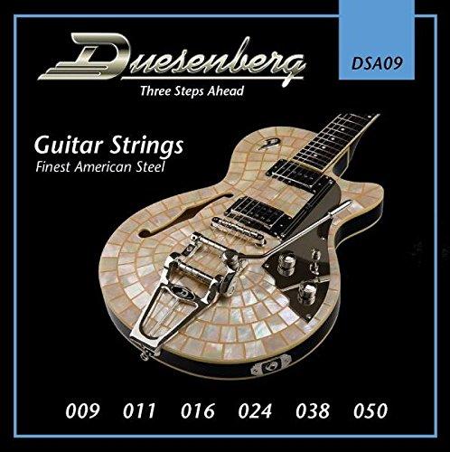 Duesenberg DSA09 009-050 - Cuerdas para guitarra eléctrica