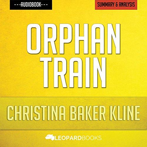 Orphan Train, by Christina Baker Kline audiobook cover art