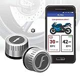 FOBO Bike 2 Tire Pressure Monitoring Systems (Silver)