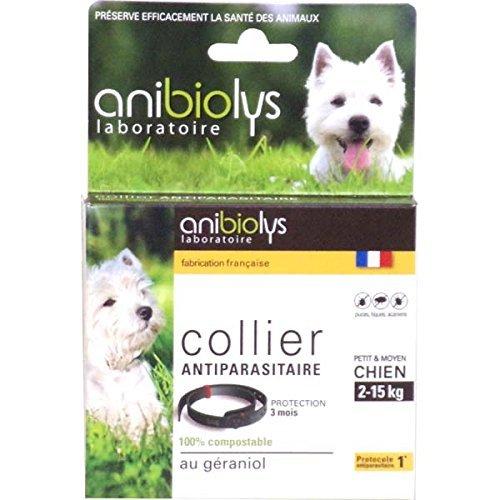 Anibiolys Prventif Collier Antiparasitaire Petit et Moyen Chien T41