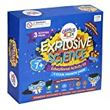 Genius Box Explosive Science 3 Activity Kit for 7+ Year Age: DIY Kit, Educational Toy, Educational Kit, STEM Toy, Science Experiment, Learning Kit