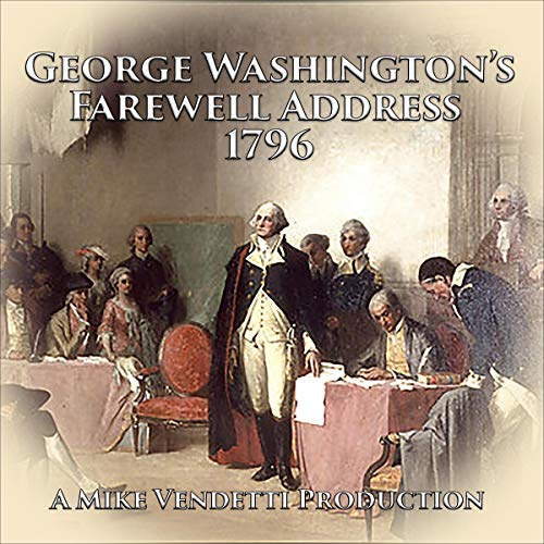 『George Washington's Farewell Address 1796』のカバーアート