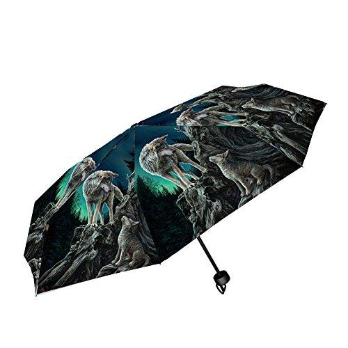 Nemesis Now Guidance Lisa Parker Regenschirm, 24 cm, Grau, Kunststoff, Metall, 190T Pongee, Einheitsgröße