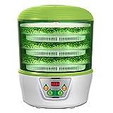 Máquina de germinación de brotes de soja, cultivador automático de brotes de soja, máquina inteligente de germinación de vino de arroz natto de yogur de gran capacidad, material PP, para cada uso do