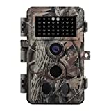 Zopu Trail Game Camera 20MP 1080P, Motion Activated, 0.2s Trigger Time, No Glow Night Vision 65ft, IP66 Waterproof Wildlife Cam for Outdoor Deer Hunting, Home Security