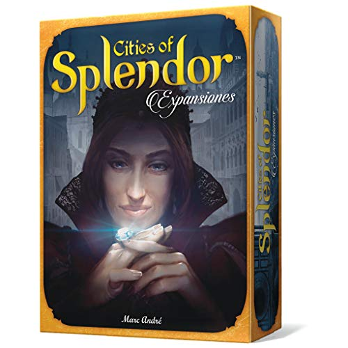 Space Cowboys- Cities of Splendor (Asmodee SCSPEX01) , color/modelo surtido