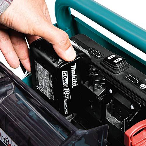 Makita XUC01PTX1 18V X2 LXT Lithium-Ion Brushless Cordless Power-Assisted Wheelbarrow Kit (5.0Ah)