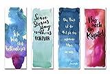 Nastami Lesezeichen Set 4-teilig Aquarell, 4 Lesezeichen, Lesezeichen Watercolor (Aquarell)
