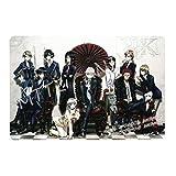 K Project - Japan Anime Poster Movie Poster Manga Poster Cartoon Poster (12'x8' or 12'x18') Metal Tin Sign Home Wall Art Decor Art Prints