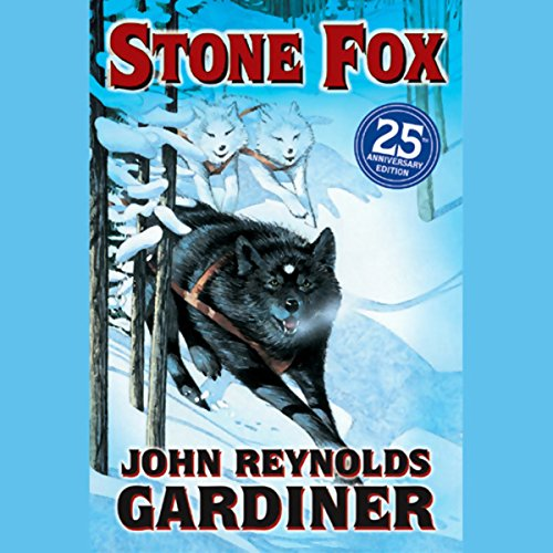 Stone Fox audiobook cover art