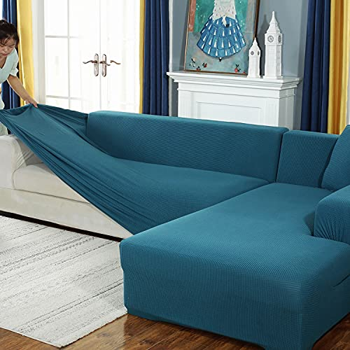 Thicken Fundas de sofa de 3 asientos para perros gatos...