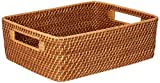 Kouboo 1060121 Laguna Rattan Shelf & Organizing Basket
