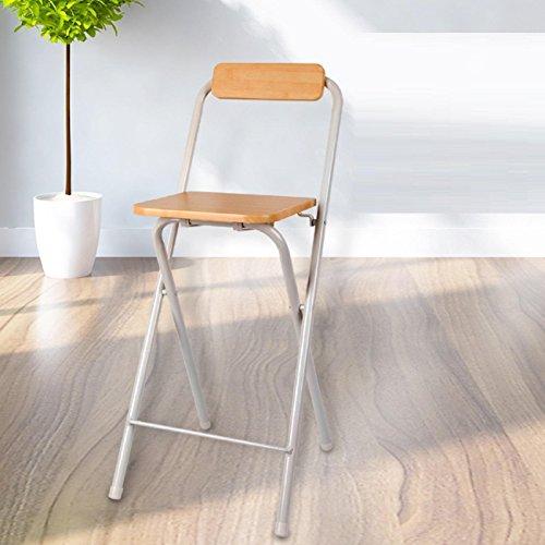 GAOJIAN Hocker GAOJIAN Modernes Haus mit hohen Fuß Klappstühlen Portable Bar Stühle Dick Erwachsene Casual High Fuß Stühle