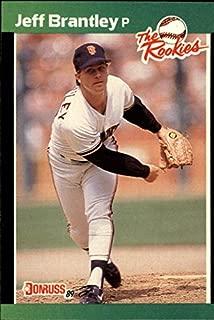 1989 Donruss Rookies #41 Jeff Brantley RC