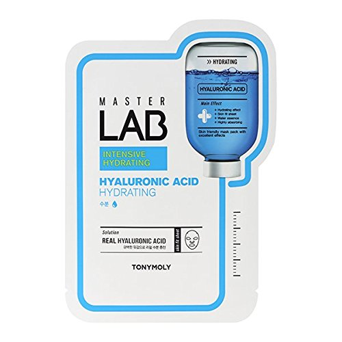 Tonymoly Master Lab Mask Sheet, Hyaluronic Acid, 1 Count